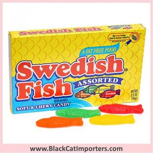 Swedish Fish Assorted Theater Size 12ct