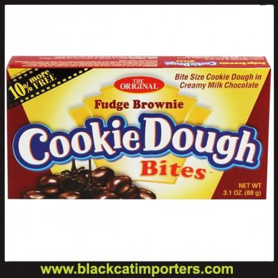 Taste of Nature Cookie Dough Bites Fudge Brownie 12ct
