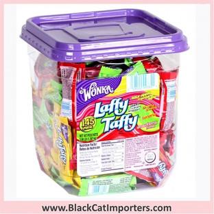 Wonka Laffy Taffy Candy Assorted: 145-Piece Tub