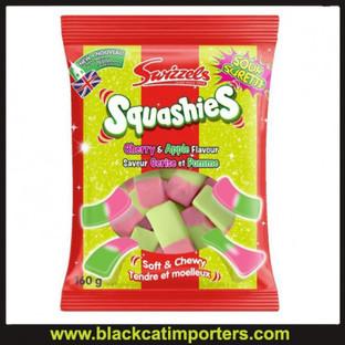 Swizzels Original Sour Cherry Apple Squashies 160g 10ct