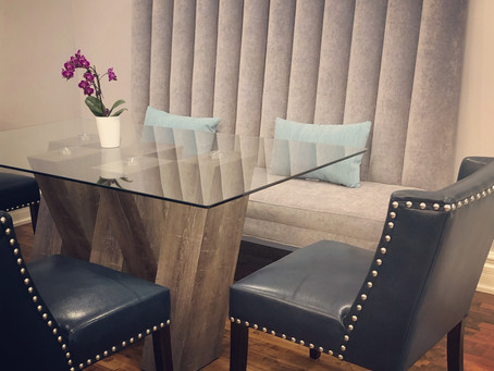 Dining Banquette with Edge