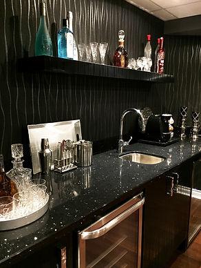 Basement Bar - Interior Designer Oakville