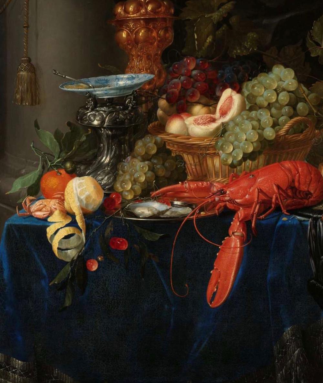 Painting by Dutch Master Pieter de Ring,  Rijks Museum
