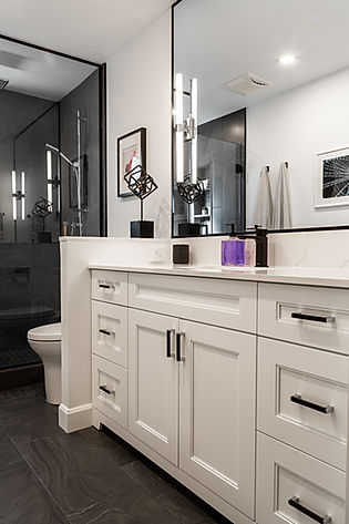 Bathroom Renovation - Interior Designer Burlington