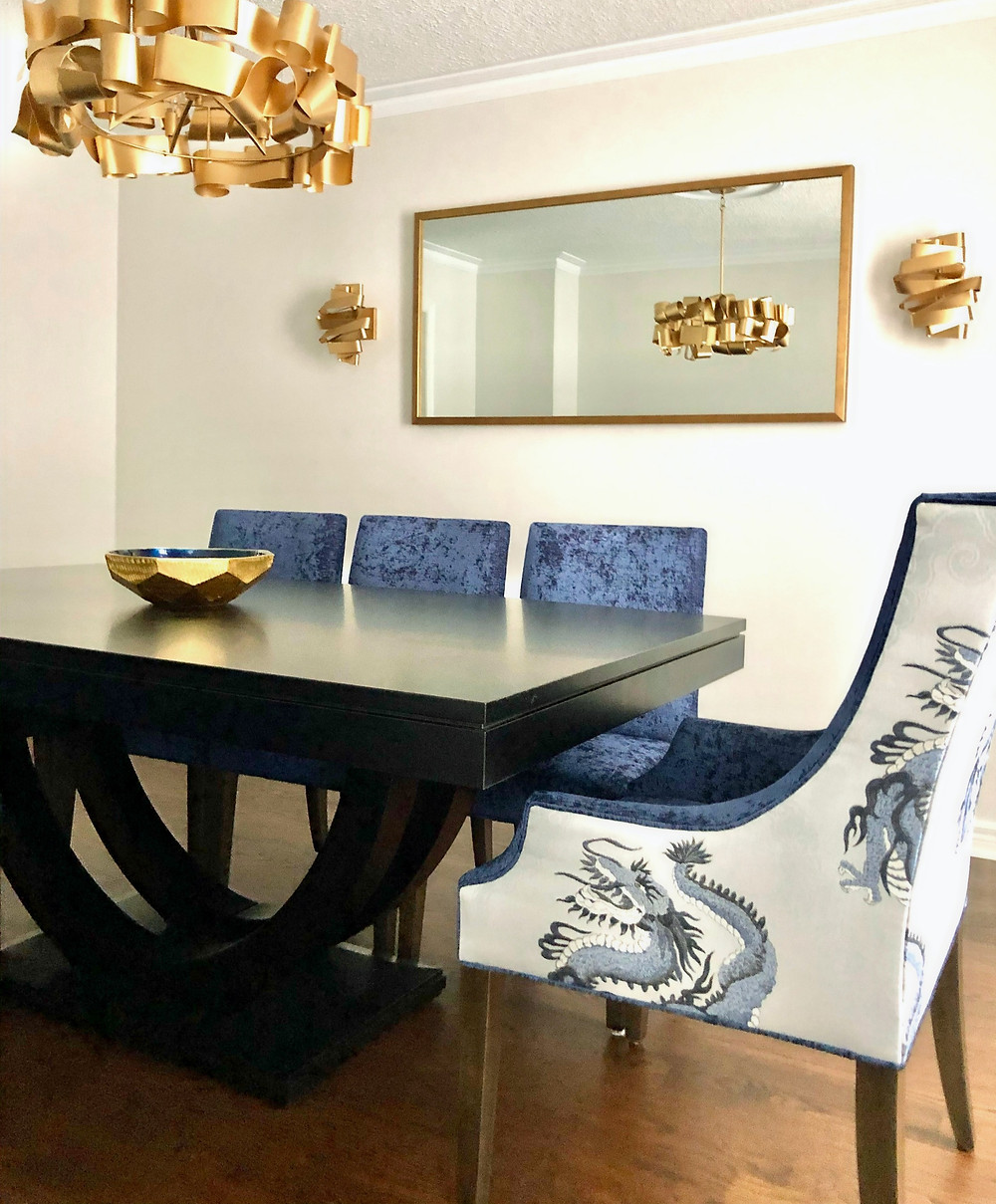 Dining Room - elegance with edge