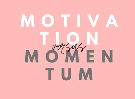 Motivation vs. Momentum: Which one is more reliable?