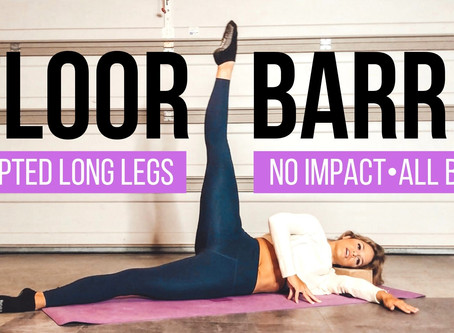 Increase stability and Joint Health with Barre-Inspired Workouts at Home!