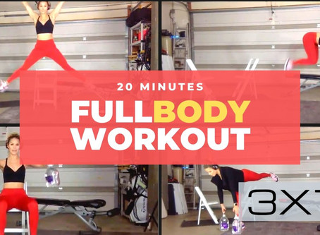 How I burned 300 calories in 20 minutes