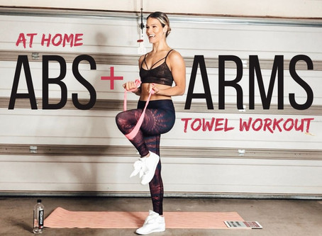 Quick at Home Arm Workout- Good for All Levels