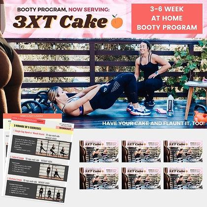 3XT CAKE: GLUTE Building Program