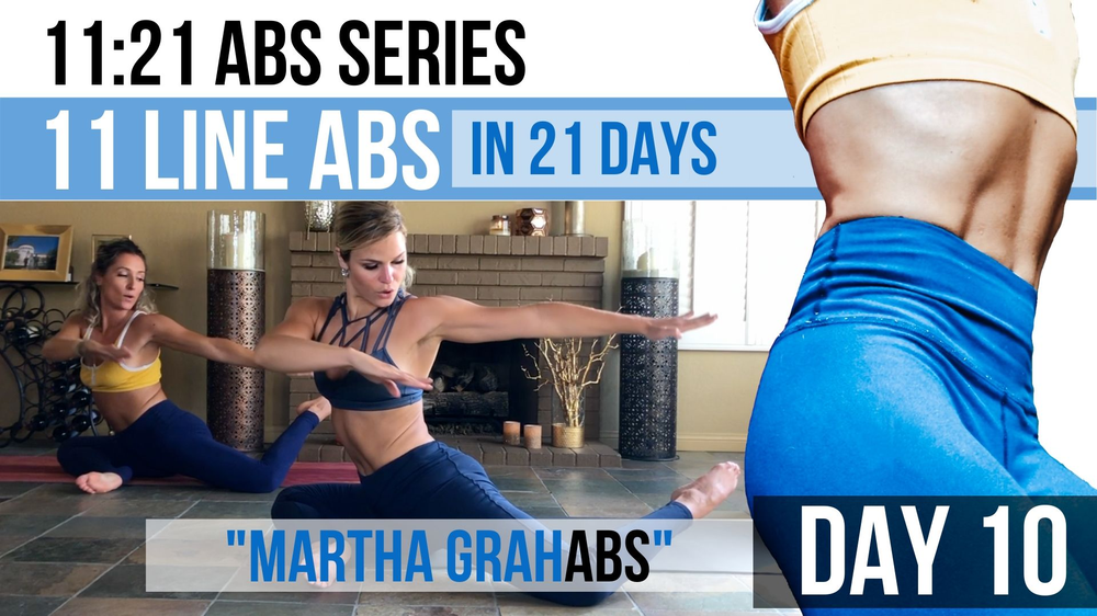 11 line abs in 21 days. Connect inside, change outside,