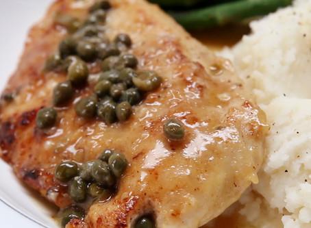 Easy & Healthy Chicken Piccata