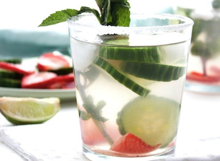 Fizzy Infused Summer Mocktail
