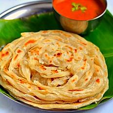 Kerala Parotta(2) and Curry(8 oz)