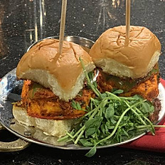 Paneer Tikka Sliders