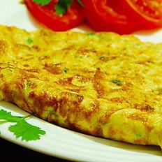 2 egg Masala Omelette