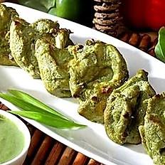 Hariyali Kebab(Chicken/Paneer)