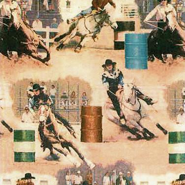 BARREL RACERS-Sawdust