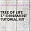 "Thumbnail: 3"" Ornament Tutorial Kit- learn something new!"