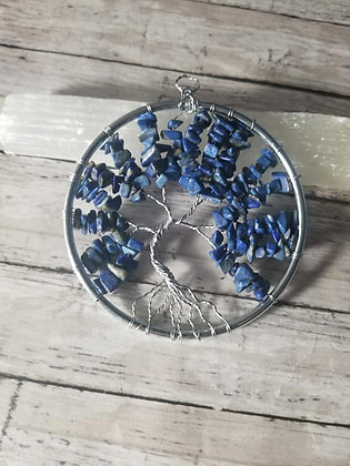 "3"" Lapis Lazuli Tree of Life"