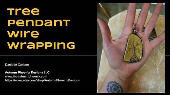 PDF & Video Tutorial: Making Tree Pendants (without kit)