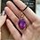 Thumbnail: Magenta-Dyed Jade pendant