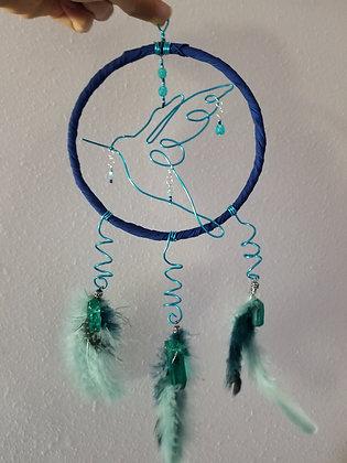 Hummingbird window/wall decor