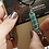 Thumbnail: Amazonite and stainless steel wire with rabbit charm