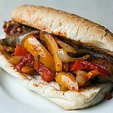Mild or Hot Sausage Sandwich