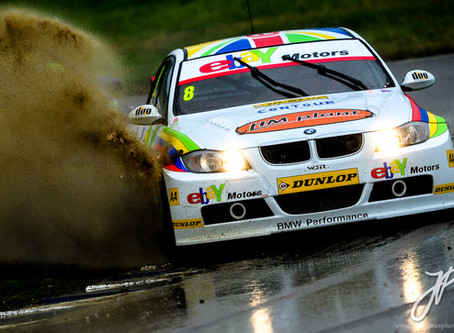 The Art of Touring Cars in the Rain