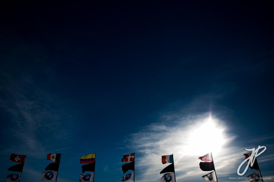 January 27-31, 2016: Daytona 24 hour: Flags at the Daytona 24