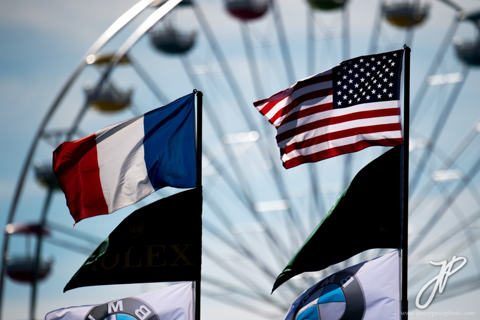January 27-31, 2016: Daytona 24 hour: American flag, Daytona atmosphere