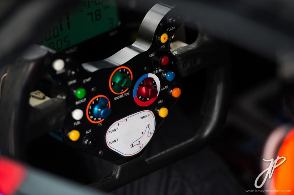 January 22-25, 2015: Rolex 24 hour. 10, Chevrolet, Corvette DP, steering wheel