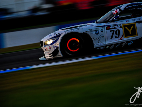 Sunset with British GT