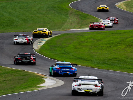 GT Showdown at VIR