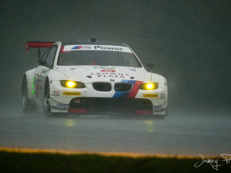 Sun. Sprinkle.Monsoon. ALMS at MidOhio!