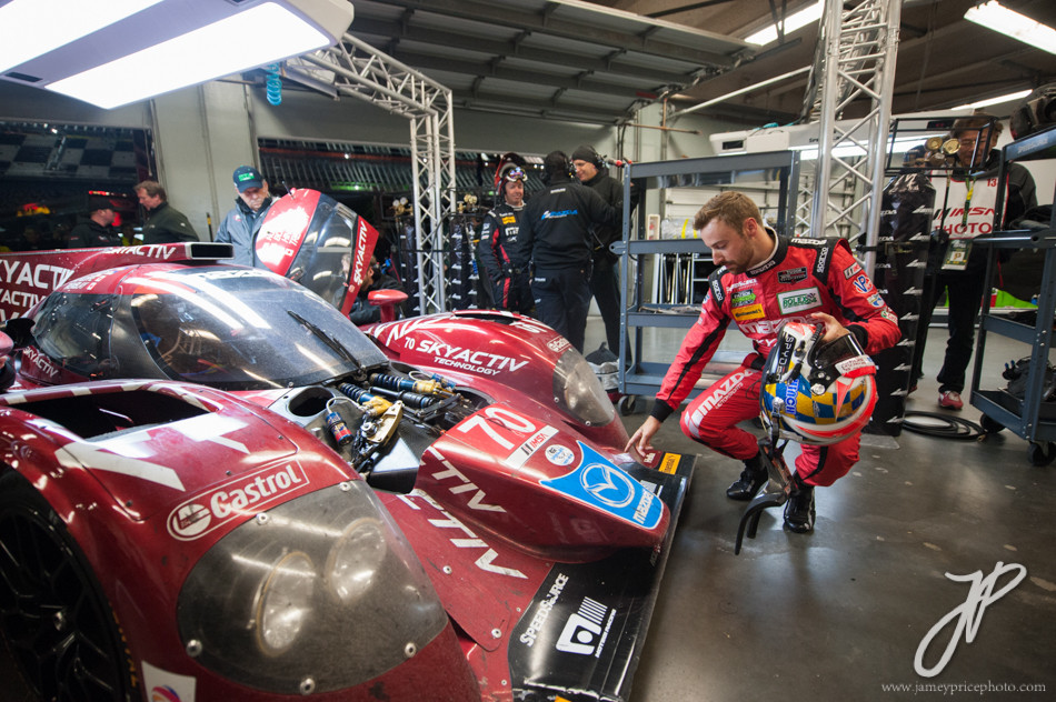 January 22-25, 2015: Rolex 24 hour. 70, Mazda, P, James Hinchcliffe