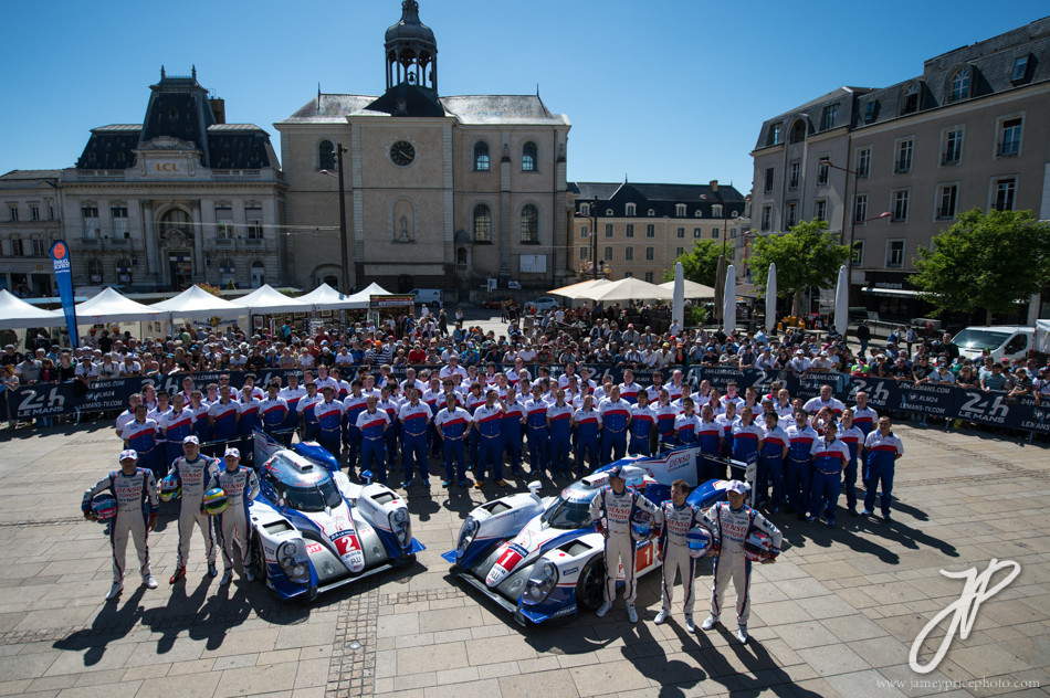 June 8-14, 2015: 24 hours of Le Mans - Toyota Racing