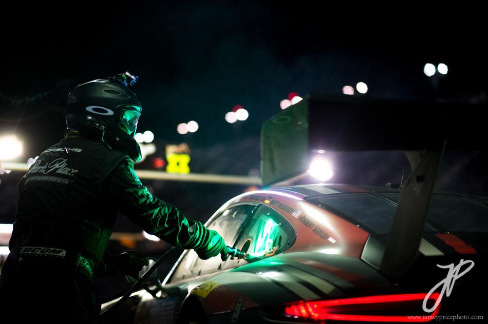 January 27-31, 2016: Daytona 24 hour: #73 Park Place Motorsport, Porsche