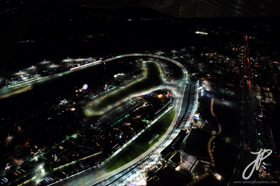 January 30-31, 2016: Daytona 24 hour: Daytona speedway from the air