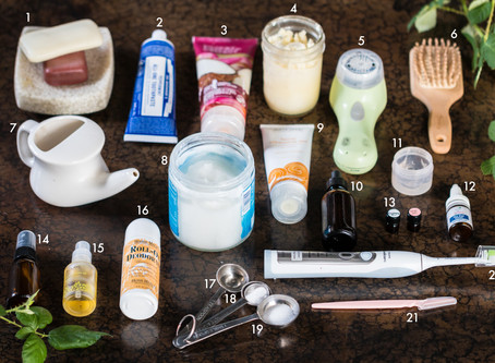 21 NON TOXIC VEGAN SELF CARE PRODUCTS