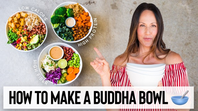 HOW TO MAKE A VEGAN BUDDHA BOWL // 3 DELICIOUS & EASY RECIPE IDEAS 🥣