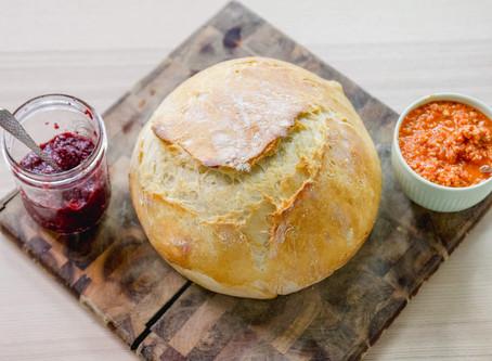 SAVORY & SWEET: 2 Vegan Bread Spreads | Cherry Chia Seed Jam | Roasted Red Pepper Tapenade