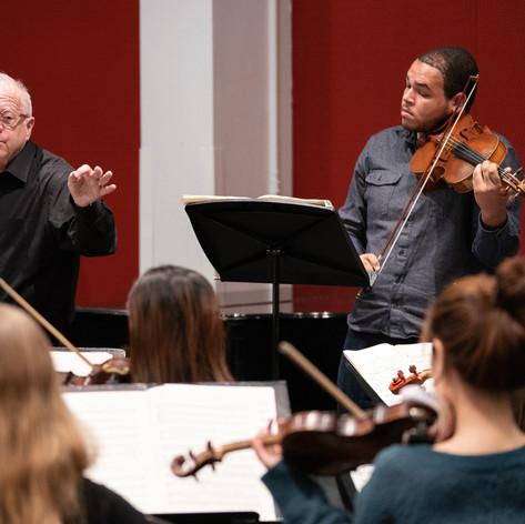 Harold in Italy Rehearsal