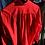 Thumbnail: Poppy Red Silk Top