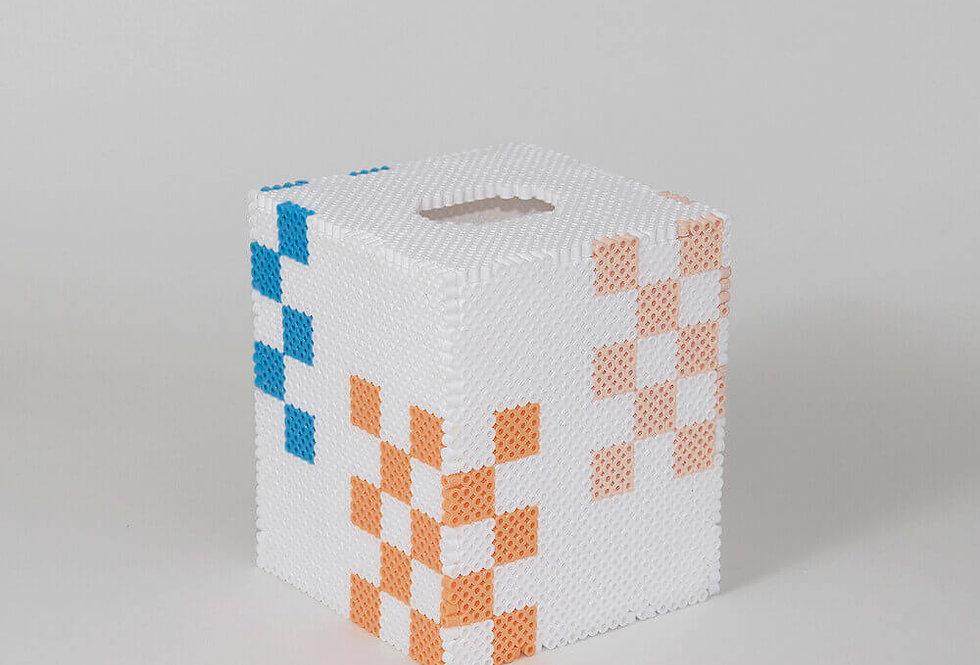 Checks Tissue Box