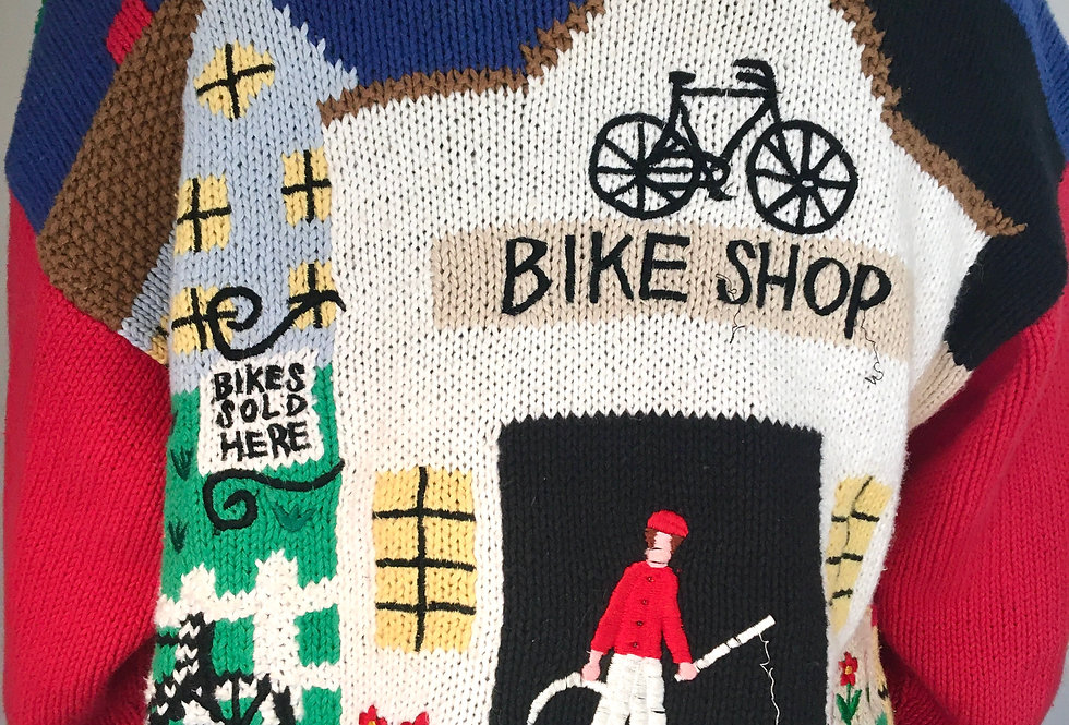 Bike Shop Sweater