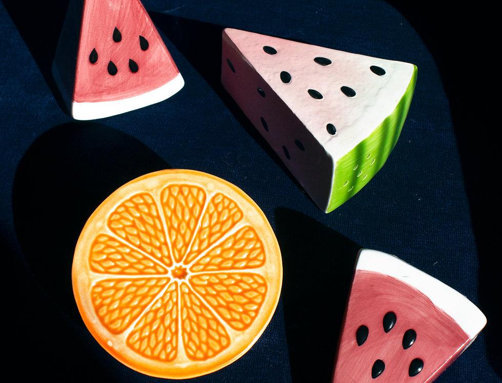 Fruity Salt & Pepper Shakers