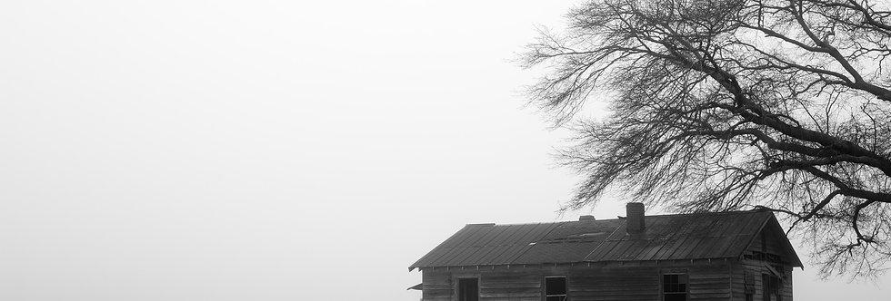 Untitled (Shack in Fog)