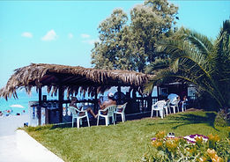 Hotel Barbara Loutraki Greece.   A cosy hotel on a great beach !